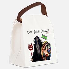 Anti Bully Brigade ~ Dhorigins Wo Canvas Lunch Bag