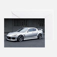 Mazda rx8 Greeting Card
