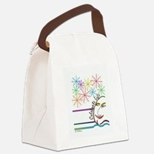 Celebrate Life - English Canvas Lunch Bag