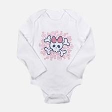 Cool Punk baby girl Long Sleeve Infant Bodysuit
