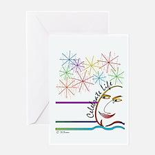 Celebrate Life - English Greeting Card