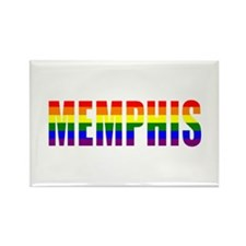 Memphis Pride Rectangle Magnet
