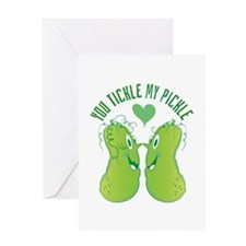 Tickle My Pickle Greeting Cards
