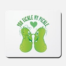 Tickle My Pickle Mousepad