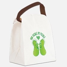 Tickle My Pickle Canvas Lunch Bag