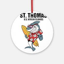 St. Thomas, U.S. Virgin Islands Round Ornament