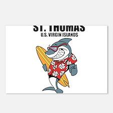 St. Thomas, U.S. Virgin Islands Postcards (Package