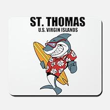 St. Thomas, U.S. Virgin Islands Mousepad