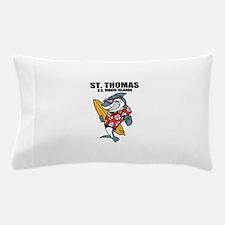 St. Thomas, U.S. Virgin Islands Pillow Case