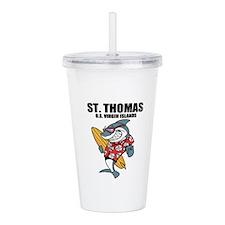 St. Thomas, U.S. Virgin Islands Acrylic Double-wal