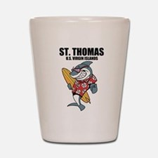 St. Thomas, U.S. Virgin Islands Shot Glass