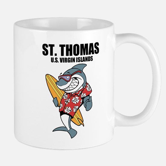 St. Thomas, U.S. Virgin Islands Mugs