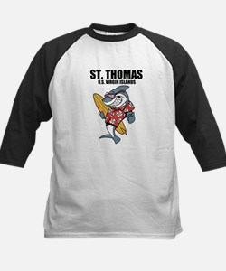 St. Thomas, U.S. Virgin Islands Baseball Jersey