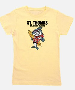St. Thomas, U.S. Virgin Islands Girl's Tee