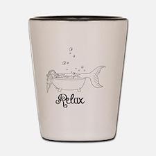 Relaxing Mermaid Shot Glass