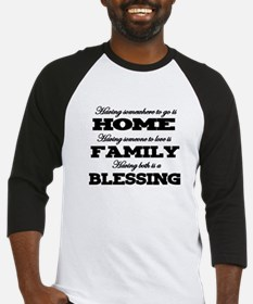 HAVING SOMEWHERE TO GO..HOME, FAMI Baseball Jersey