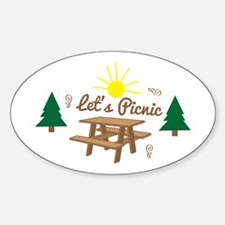 Lets Picnic Decal