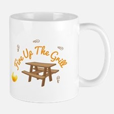 Fire Up Grill Mugs