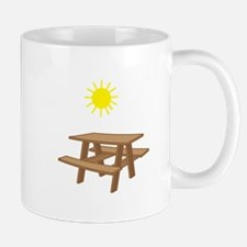 Picnic Table Mugs