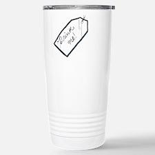 Drink Me Tag Travel Mug