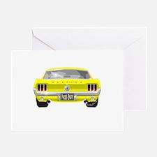1967 Mustang Greeting Card