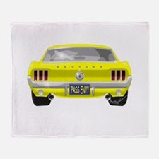 1967 Mustang Throw Blanket