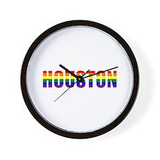 Houston Pride Wall Clock
