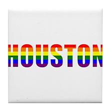 Houston Pride Tile Coaster