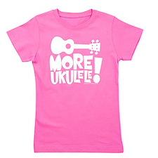 Funny Ukalele Girl's Tee