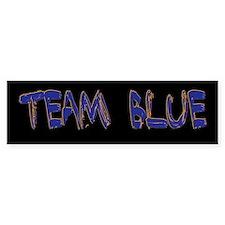 Team Blue Bumper Bumper Sticker