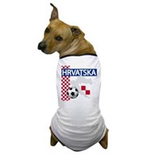 Hrvatska Soccer Dog T-Shirt