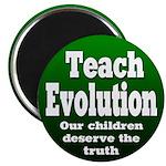 Teach Evolution School Magnet