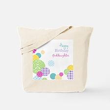 Happy Birthday God Daughter Tote Bag
