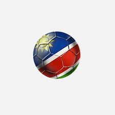 Namibia Soccer Ball Mini Button