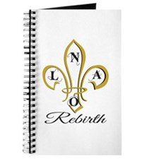 NOLA Rebirth Fleur de Lis Journal