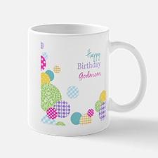 Happy Birthday God Mom Mugs