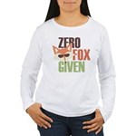 Zero Fox Given Women's Long Sleeve T-Shirt
