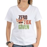Zero Fox Given Women's V-Neck T-Shirt