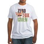 Zero Fox Given Fitted T-Shirt