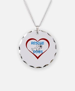 IHeart Rescue Dogs Necklace