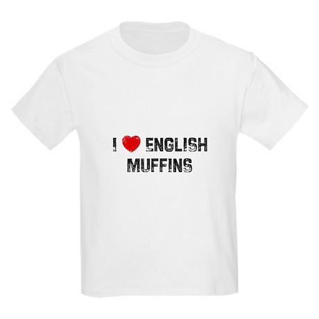 I * English Muffins Kids Light T-Shirt