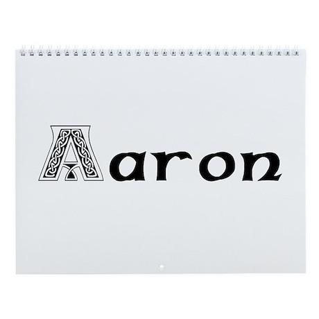 Aaron Wall Calendar