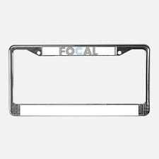 Cute Focal License Plate Frame