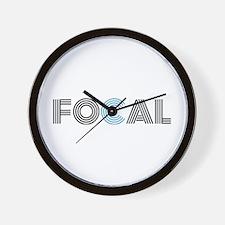 Cute Focal Wall Clock