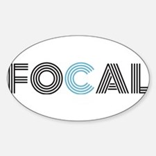 Cute Focal Sticker (Oval)