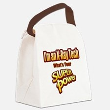 Unique Xray tech Canvas Lunch Bag