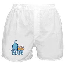 norwegian blue Boxer Shorts