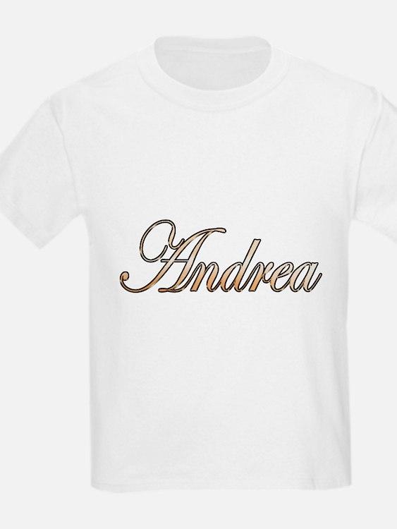 Gold Andrea T-Shirt