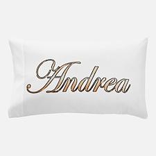 Gold Andrea Pillow Case