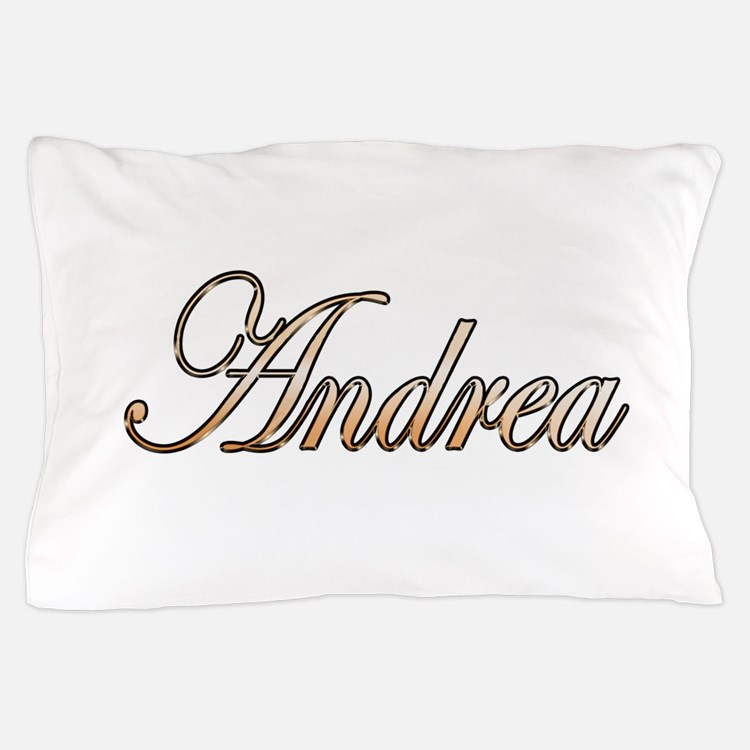 Gold Andrea Pillow Case